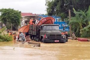Phú Thọ: Tập trung cứu hộ, cứu nạn, khắc phục hậu quả mưa lũ