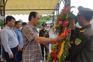 Ngành GTVT dâng hương tưởng nhớ các anh hùng liệt sĩ tại Quảng Trị