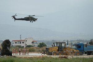 Phòng không Nga bắn rơi máy bay quân sự không người lái tại Syria