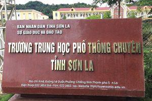 Lộ diện nhiều thí sinh con 'ông to bà lớn' có điểm thi cao bất thường tại Sơn La