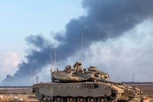 Xe tăng Israel tấn công chốt quân sự của phong trào Hamas