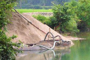 Quản lý chặt chẽ tài nguyên cát, sỏi lòng sông