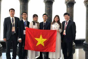 Học sinh Việt Nam giành 3 huy chương vàng Olympic sinh học quốc tế