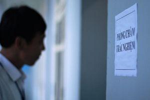 Chấm thẩm định bài thi THPT quốc gia tại Hòa Bình, Lâm Đồng, Bến Tre