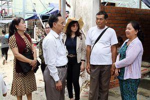 Các gia đình Việt kiều ở Campuchia ổn định cuộc sống sau vụ hỏa hoạn