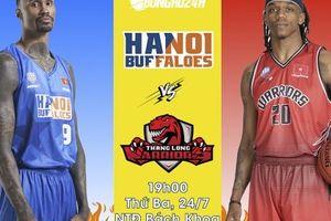 Hanoi Buffaloes vs Thang Long Warriors (24/7): Derby Hà Thành, gió đã đổi chiều