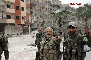SAA tiếp quản thành trì cuối cùng của phiến quân ở Daraa