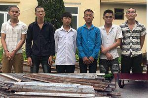 Bắt nhóm đối tượng trộm cắp sắt của dự án cao tốc Hạ Long - Vân Đồn