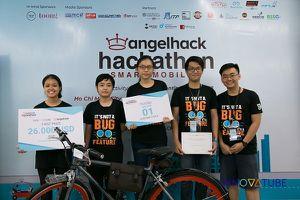 Dự án khuyến khích đi xe công cộng đoạt giải nhất AngelHack Hackathon