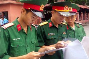 Đăng ký nguyện vọng vào trường công an, quân đội, y dược