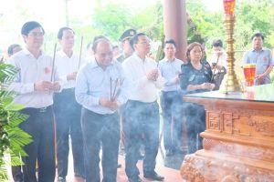 Quảng Nam: Thủ tướng Nguyễn Xuân Phúc dự lễ khánh thành nghĩa trang và nhà bia tưởng niệm liệt sĩ Quế Phú
