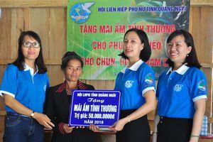 Đồng hành cùng phụ nữ biên cương tại huyện Nam Giang