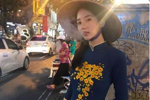 Người đẹp xứ Hàn bị 'ném đá' vì mặc áo dài hút thuốc