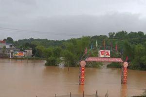 Mưa lũ gây nhiều thiệt hại tại Lào Cai