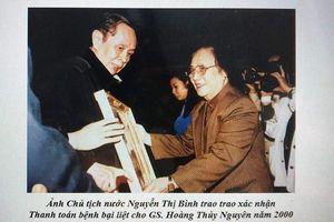 Vĩnh biệt anh hùng lao động, thầy thuốc ND Hoàng Thủy Nguyên
