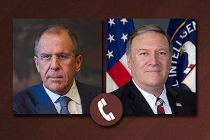 Bộ Ngoại giao Mỹ lên tiếng về cuộc điện đàm giữa Lavrov và Pompeo