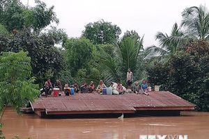 Vỡ đập thủy điện ở Lào: Chưa có thông tin người Việt bị thương vong