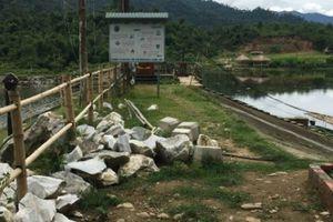 Nghệ An: Công ty VSC xây dựng khi chưa được cấp phép gây mâu thuẫn