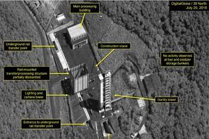 Triều Tiên giữ đúng cam kết, bắt đầu tháo dỡ bãi thử tên lửa đạn đạo Sohae