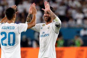Sergio Ramos tiết lộ chủ nhân mới của chiếc áo số 7 tại Real Madrid