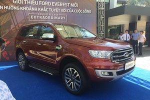 Điểm danh những thay đổi trên Ford Everest 2018 sắp bán ra tại Việt Nam