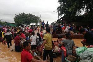 Vỡ đập thủy điện ở Lào, ít nhất 28 người thiệt mạng, hơn 100 người mất tích