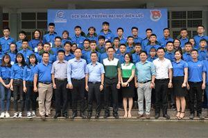 Lễ xuất quân chiến dịch mùa hè xanh tình nguyện năm 2018 của tuổi trẻ Đại học Điện lực