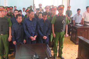 10 bị cáo gây rối tại Phan Rí Cửa lãnh án