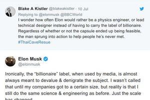 Tỉ phú Elon Musk cảm thấy bị xúc phạm khi được truyền thông gọi là 'tỉ phú'!