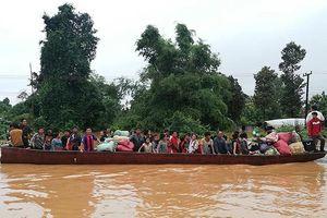 Hàng trăm người mất tích do vỡ đập thủy điện ở Lào
