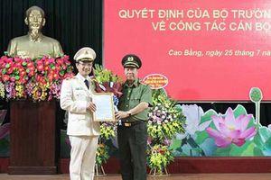 Tướng Nguyễn Ngọc Toàn được bổ nhiệm làm Giám đốc Công an Cao Bằng