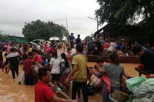 Vỡ đập tại Lào, nhà thầu Việt Nam không liên quan, bầu Đức điều trực thăng cứu công nhân