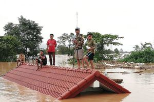 Báo Lào: 2 người thiệt mạng trong vụ vỡ đập thủy điện