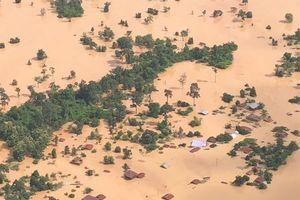 Đập thủy điện Lào vỡ như thế nào?