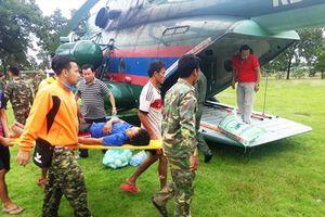 Trực tiếp từ Lào: Tổng lực tìm kiếm 130 người mất tích