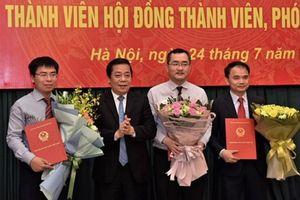 2 thành viên ban trù bị thành lập VAMC nhận nhiệm vụ mới