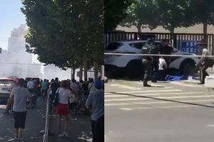 Nổ bên ngoài sứ quán Mỹ tại Trung Quốc, một số người bị thương