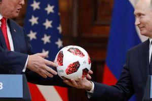 Quả bóng Putin tặng Trump có thể chứa chip điện tử
