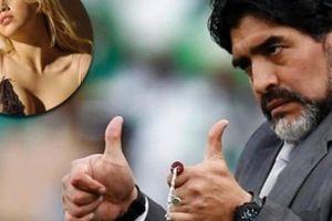 Diego Maradona 'ăn nằm' với vợ của tiền đạo Mauro Icardi