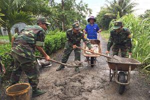 Nhiều hoạt động ý nghĩa trong chiến dịch tình nguyện 'Hành quân xanh'