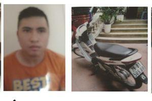 Bắt giữ băng nhóm chuyên trộm cắp xe máy lấy tiền chơi game