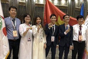 Nữ sinh Hà Nội đạt điểm cao nhất kỳ thi Olympic Sinh học quốc tế