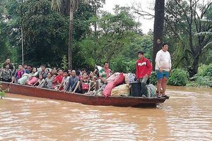 Vỡ đập thủy điện ở Lào: 15 gia đình Việt trong vùng ảnh hưởng