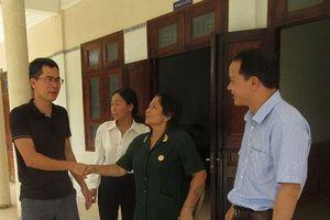 Báo Tiền Phong thăm, tặng quà Trung tâm Thương Binh Long Hải