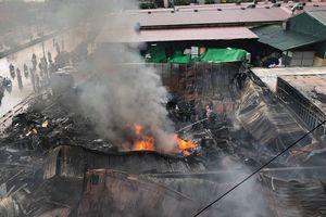 Thông tin mới nhất về vụ cháy tại chợ Gạo ở TP Hưng Yên