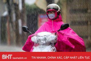 Dự báo thời tiết Hà Tĩnh ngày 26/7: Có mưa rào và dông vài nơi