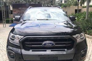 Xe bán tải Ford Ranger 2018 đã cập bến Việt Nam