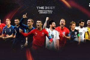 Giải FIFA The Best: Cơ may nào để phần còn lại thách thức Ronaldo?