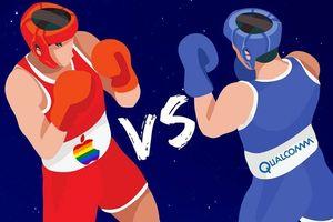 Qualcomm 'đá đểu' Apple trong bài so sánh tốc độ mạng iPhone và Android