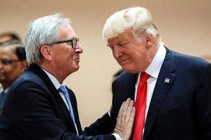 Ông Trump đồng ý bàn chuyện bỏ thuế quan với EU